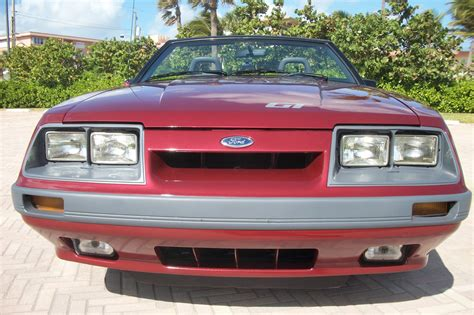 1986 Ford Mustang Pictures Cargurus