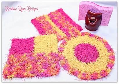 Crochet Scrubby Scrubbies Kitchen Patterns Americancrochet Yarn