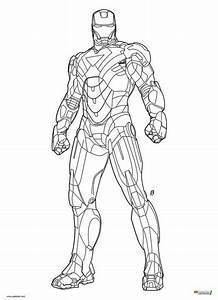 Iron Man Mark 6 Coloring page.jpg (521×720) | iron man ...