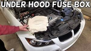 How To Open The Engine Fuse Box On Bmw E90 E91 E92 E93