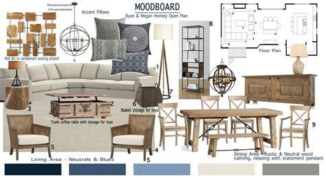 open concept modern home interior design