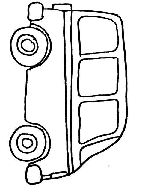 transportation van coloring pages coloring page book