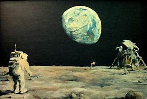 Apollo 11 - Painting