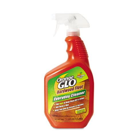 orange glo hardwood floor cleaner 32oz bottle