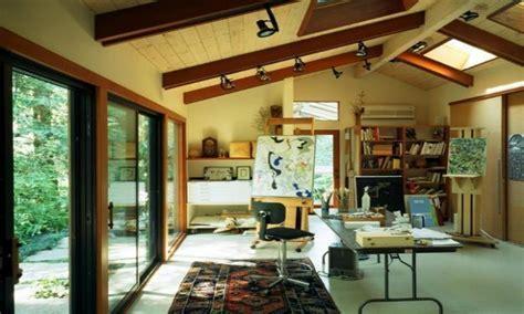 Small bedroom organization ideas, basement art studio