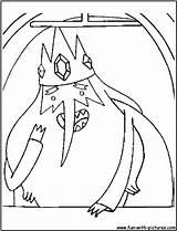 Hora Desenhos Aventura Colorir Rei Desenho Dibujos Pintar Gelado Imprimir Colorear Ice Coloring Cartoon Network Aventuras Imagens Rey Marceline Helado sketch template