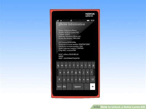 codigo para windows phone todonokialumia how to unlock a nokia lumia 920 4 steps with pictures