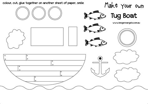 Paper Cut Out Templates by 28 Images Of Boat Craft Template Infovia Net