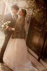winter wedding in paris the neo trad With dress and coat for winter wedding