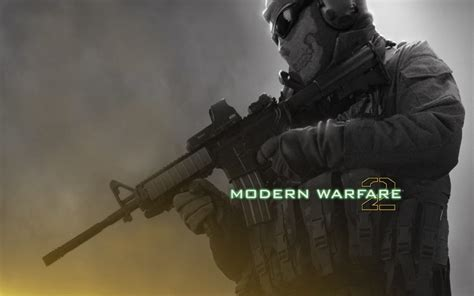 call  duty modern warfare  ghost  hd wallpaper
