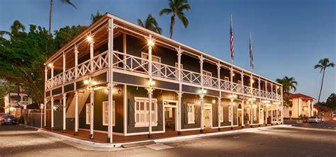 maui hotel  western pioneer inn lahaina maui hawaii