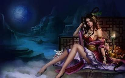 Fantasy Gothic Brown Artwork Haired Legs Wallpapers