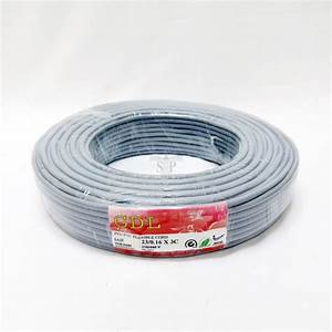 1 Meter  Gdl Pure Copper 3 Core Pvc Insulated Pvc
