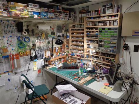 model bench hobby room workbench hobby desk