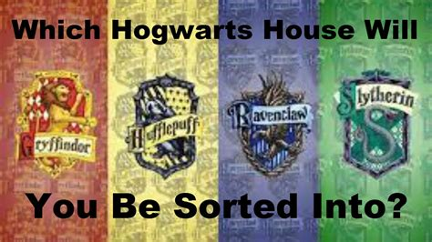 Which Hogwarts House Are You In?  Harry Potter Quiz Youtube