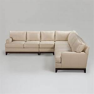 Ethan allen sectional sofas leather images for Leather sectional sofa ethan allen