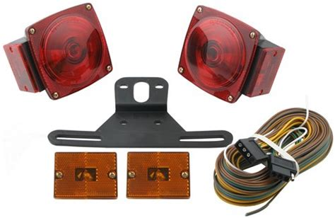 trailer light kits standard trailer light kit with 25 wire harness optronics