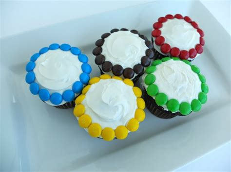 olympics inspired cupcakes  medal worthy decorating