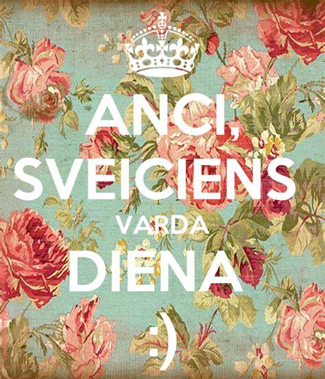 ANCI, SVEICIENS VARDA DIENA :) Poster | Zane | Keep Calm-o ...
