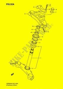 Steering Column  See Note  For Suzuki Gsr 600 2007