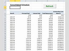 Lease Amortization Schedule Equipment Payment Excel