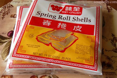 roll wrappers rolling baking and frying spring rolls soupbelly