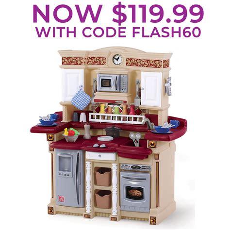 lifestyle partytime kitchen kids play kitchen step