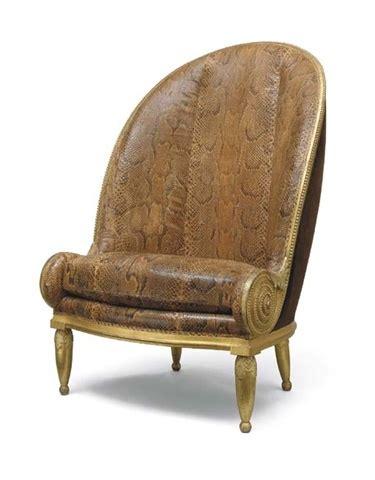 france fauteuil nautile 1913 carved walnut armchair
