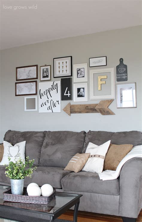 wall art above sofa creative ways to decorate above the sofa little vintage nest