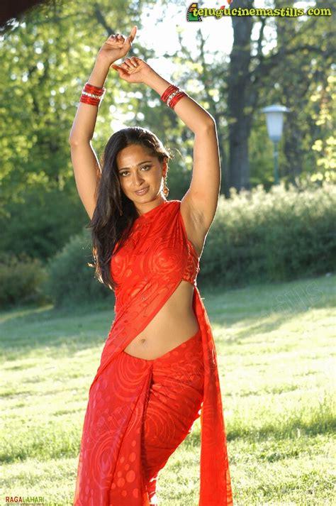 indian masala anushka shetty and navel show
