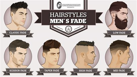 Men's Hairstyles   A Simple Guide To Popular and Modern Fades
