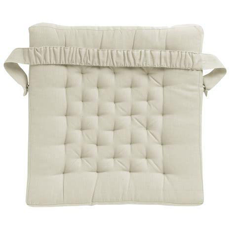 galette de chaise 45x45 galette de chaise carrée 100 coton facile à installer