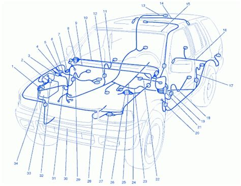 Isuzu Rodeo Engine Diagram Automotive Parts