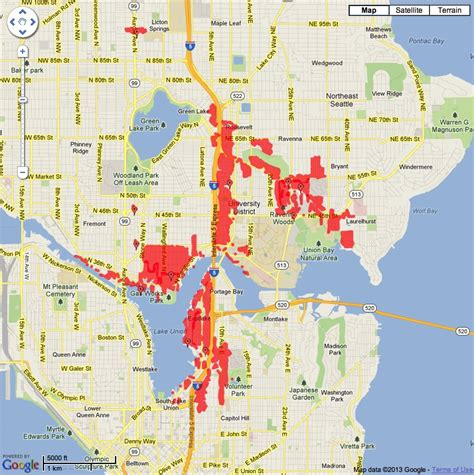 Seattle City Light Power Outage Map My Blog