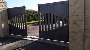 Portail Coulissant 2 Vantaux : motoriser son portail le confort monter soi m me ~ Edinachiropracticcenter.com Idées de Décoration