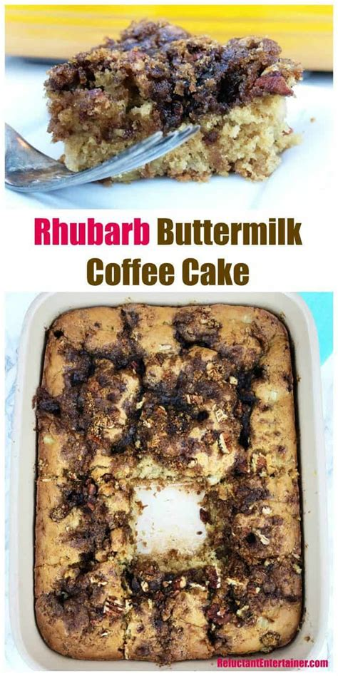 I believe it's a mollie katzen recipe as my aunt loves her stuff. Rhubarb Buttermilk Coffee Cake for summer hosting and ...