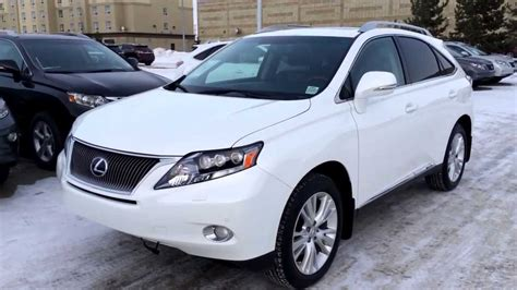 Lexus Certified Pre Owned 2011 White Rx450h Hybrid Ultra