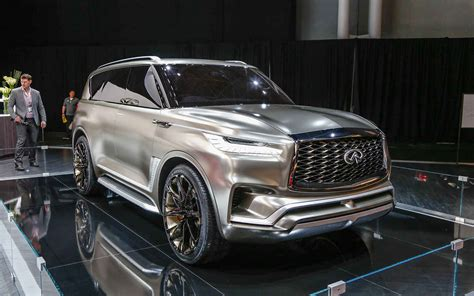 New 2019 Infiniti Qx80 Get Monograph Body Platform New