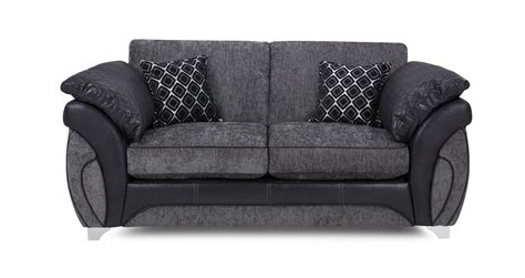black fabric sofa bed dfs luna charcoal black fabric large 2 seater deluxe sofa