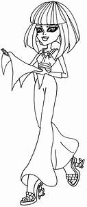Cleo de Nile Monster High Coloring Pages | Haunted ...