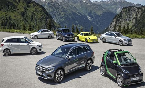 0.91 kg/100 km, weighted co₂ emissions: Mercedes-Benz May Separate Electric Vehicles Into Their Own Brand