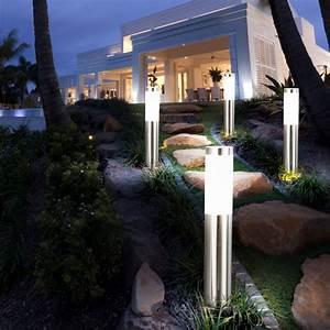 Garten Stehleuchten Aussen : vier elegante stehleuchten f r den au enbereich ~ Lateststills.com Haus und Dekorationen