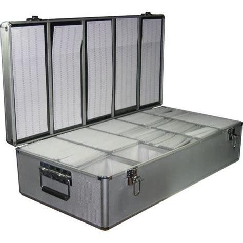 valise de rangement alu valise de rangement 1000 cd dvd alu argent ou noir prix pas cher cdiscount