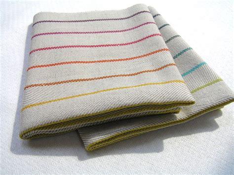 Geschirrtucher Leinen by Dish Towel Woven By Geschirrtuch Handgewebt