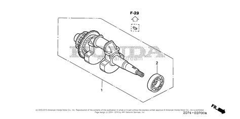 Honda Eu2000i Ac Generator, Jpn, Vin# Eaaj-1170001 Parts