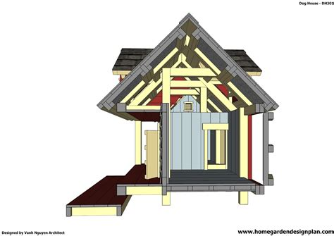 home garden plans dh insulated dog house plans insulated dog house design  upgraded