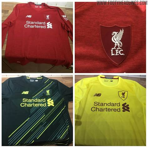 The leaked 2020/21 Liverpool kits that were developed by ...