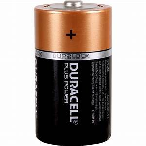 Duracell Plus Power Battery D