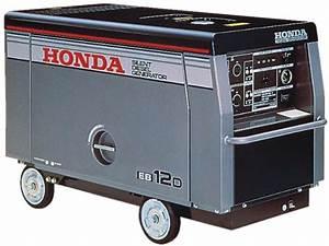 Honda Eb12d Generator Parts