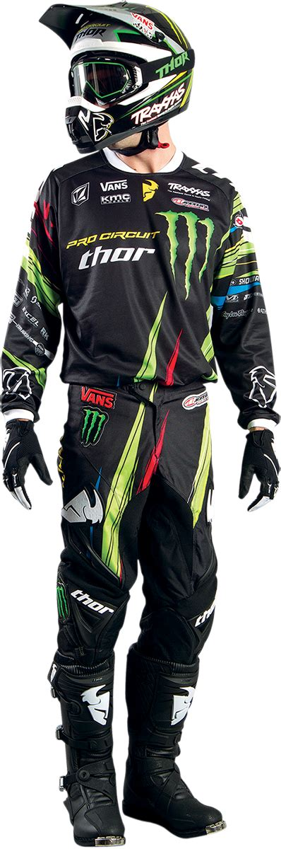 monster energy motocross gear thor mx pro circuit monster gear for 2014 dirt bike gear